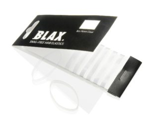 Blax hair elastic clear